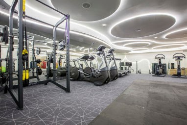 Radisson Blu Sobieski Hotel, Warsaw: Fitness-Center