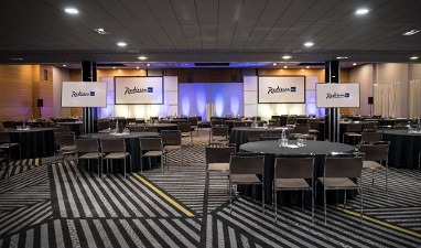 Radisson Blu Hotel London Stansted Airport : Tagungsraum